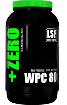 LSP +Zero WPC 80 1000 g - bez příchuti PROŠLÉ DMT 30.9.2019