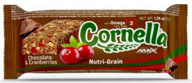 Amix Cornella bar 50 g - čokoláda/brusinka PROŠLÉ DMT