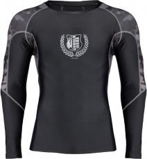 Gorilla Wear Pánské tričko s dlouhým rukávem Lander Rashguard Black/Grey