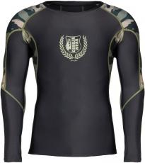 Gorilla Wear Pánské tričko s dlouhým rukávem Lander Rashguard Army Green