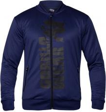 Gorilla Wear Pánská mikina Ballinger Track Jacket Navy Blue/Black