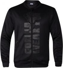 Gorilla Wear Pánská mikina Ballinger Track Jacket Black