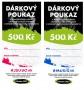 Dárkový poukaz Fitness007 500 Kč