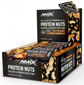 Amix Protein Nuts Bar 25x40 g