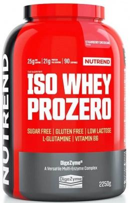 Nutrend Iso Whey Prozero 2250g + šejkr 2019 ZDARMA