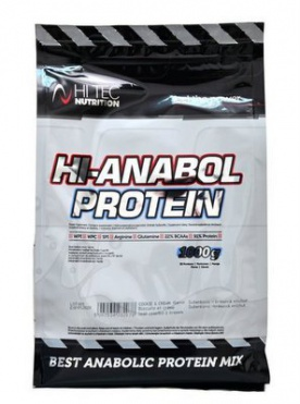 HiTec Nutrition HI-Anabol Protein 1000 g - kokos VÝPRODEJ (POŠK.OBAL)