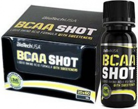 BioTechUSA BCAA Shot 20 x 60 ml