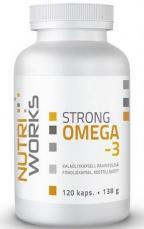 NutriWorks Omega 3 Strong 120 kapslí
