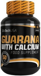 BioTechUSA Guarana with Calcium 60 kapslí