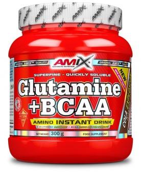 Amix Glutamine + BCAA powder 300g