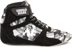 Gorilla Wear Pánská obuv Perry High Tops Black/Gray