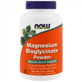 Now Foods Magnesium Biglycinate Powder 227g