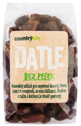 Country life Datle bez pecek sušené 500g