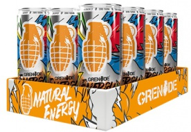 Grenade Energy Drink 330 ml VÝPRODEJ
