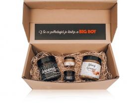 Bigboy hnědý balíček Kombi Slaný karamel a Brownie by Mamadomisha