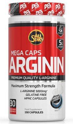 All Stars Arginin Mega Caps 150 kapslí VÝPRODEJ