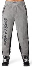 Gorilla Wear Pánské tepláky Augustine Old School Pants Gray
