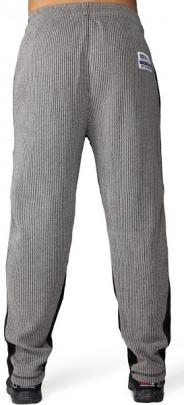 Gorilla Wear Pánské tepláky Augustine Old Scholl Pants Gray