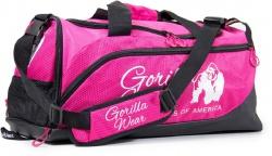 Gorilla Wear Sportovní taška Santa Rosa Gym Bag - růžová/černá