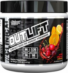 Nutrex OutLift 518 g - višeň/citrus VÝPRODEJ