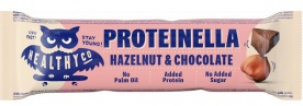 HealthyCo Proteinella Chocolate Bar 35g - bílá čokoláda