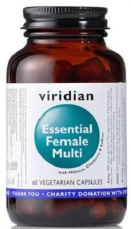 Viridian Essential Female Multi 60 kapslí