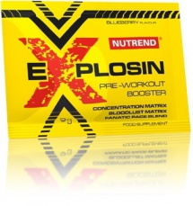 Nutrend Explosin 9 g borůvka