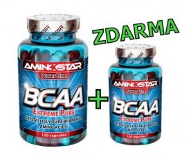 BCAA Extreme Pure 300kps + 120kps ZDARMA