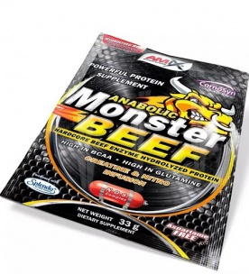 Amix Anabolic Monster Beef 33 g lesní plody