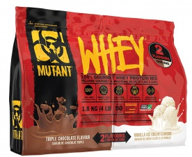 Mutant Whey Double Chamber 1800g + šejkr 700ml ZDARMA