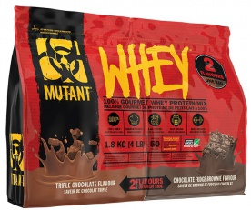 Mutant Whey Double Chamber 1800g + Mutant Deluxe Šejkr Cup 1000 ml ZDARMA