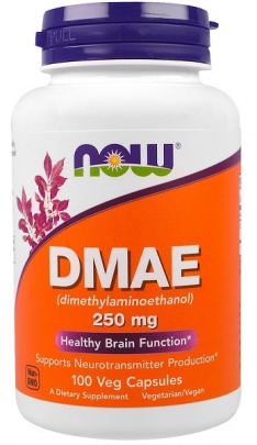 Now Foods DMAE 250mg 100 kapslí