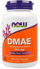 Now Foods DMAE 250mg 100 kapslí