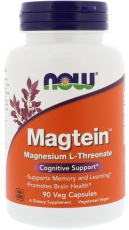 Now Foods Magtein Magnesium Threonate 90 kapslí