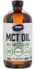 Now Foods MCT olej 473 ml - bez příchuti