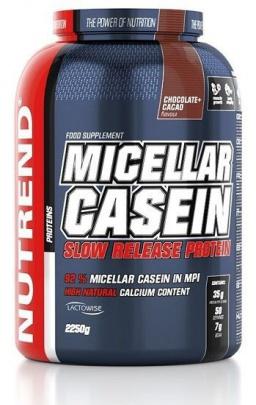 Nutrend Micellar Casein 2250 g - čokoláda/kakao PROŠLÉ DMT
