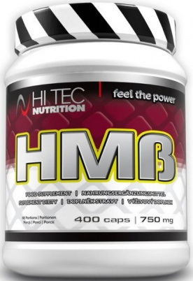 HiTec Nutrition HMB 750 mg 400 kapslí