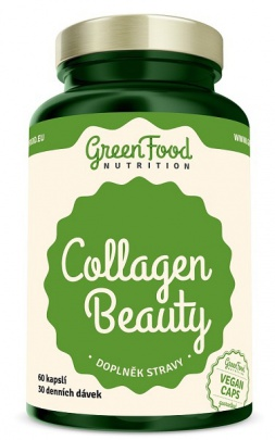 GreenFood Collagen Beauty 60 kapslí