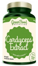 GreenFood Cordyceps Extract 90 kapslí