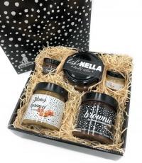 Bigboy dárková krabička Slaný karamel, Brownie a Lískonella
