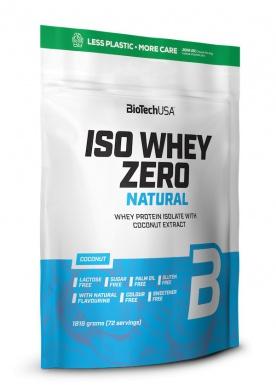 BiotechUSA Iso Whey Zero Natural + Šejkr Fitness007 ZDARMA