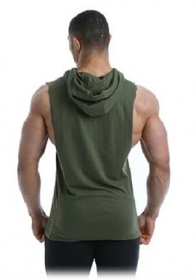 Gold's Gym Pánská vesta GGSWT143 khaki