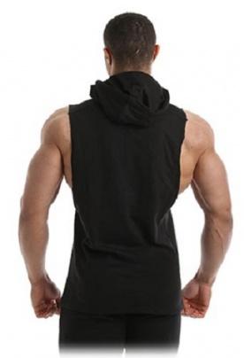 Gold's Gym Pánská vesta GGSWT143 černá