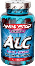 Aminostar ALC Acetyl L-Carnitine 60 kapslí
