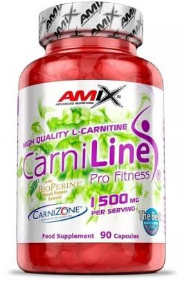 Amix Carniline 1500mg 90 kapslí
