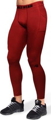 Gorilla Wear Pánské legíny Smart Tights Red