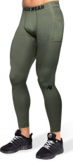 Gorilla Wear Pánské legíny Smart Tights Army Green