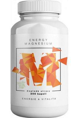 BrainMax Energy Magnesium 1000 mg 200 kapslí