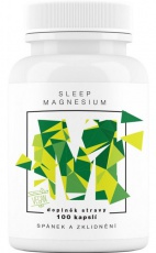 BrainMax Sleep Magnesium 800 mg 100 kapslí