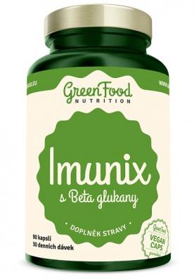 GreenFood Imunix s Betaglukany 90 kapslí
